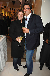 The HON.SELINA TOLLEMACHE and ANDREW WESSELS at a party to launch jeweller Boodles new store at 178 New Bond Street, London W1 on 26th September 2007.<br /><br />NON EXCLUSIVE - WORLD RIGHTS