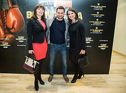 Zavec Family during Dejan Zavec Boxing Gala event in Laško, on April 21, 2017 in Thermana Lasko, Slovenia. Photo by Vid Ponikvar / Sportida