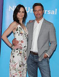 2018 NBCUniversal Summer Press Day. 02 May 2018 Pictured: Sarah Wayne Callies, Josh Holloway. Photo credit: Jaxon / MEGA TheMegaAgency.com +1 888 505 6342
