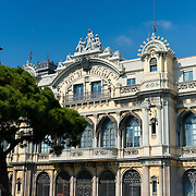 Port of Barcelona building, Spain