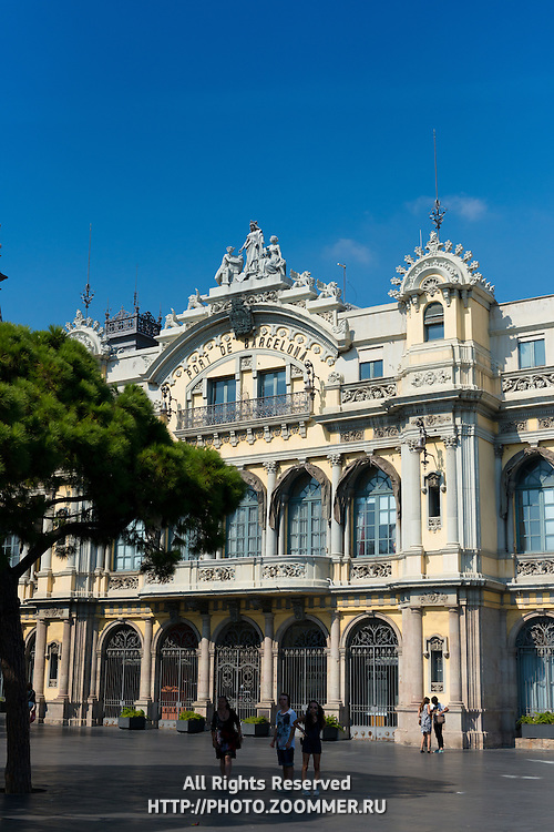 Port of Barcelona building, Spain