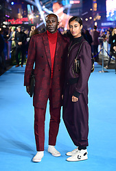 Ozwald Boateng and daughter Emilia Boateng attending the Aquaman premiere held at Cineworld in Leicester Square, London.
