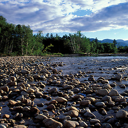 Saco River.  The Cohos Trail begins along the banks of the Saco River.  White Mountain N.F., NH