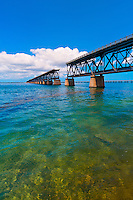 Old Bahia Honda Bridge, Bahia Honda State Park, Big Pine Key, Florida Keys, Florida USA