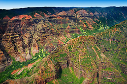 Waimea Canyon, Kauai, Hawaii, Pacific Ocean