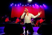 Belo Horizonte_MG, 07 de marco de 2012...UOL - SHOW MORRISSEY ..O cantor Morrissey se apresenta no Chevrolet Hall,zona sul da capital mineira...Foto: MARCUS DESIMONI / UOL