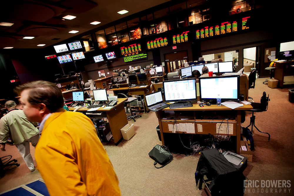 Trading floor at the Kansas City Board of Trade, acquired by CME Group in 2012. The KCBT was the marketplace for futures and options contracts on hard red winter wheat, which were transferred to CME's Chicago trading floor in 2013.