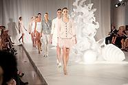 Neiman Marcus fashion show and decor