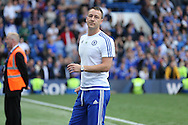 John Terry, the Chelsea captain looks on after full time. Barclays Premier league match, Chelsea v Leicester city at Stamford Bridge in London on Sunday 15th May 2016.<br /> pic by John Patrick Fletcher, Andrew Orchard sports photography.