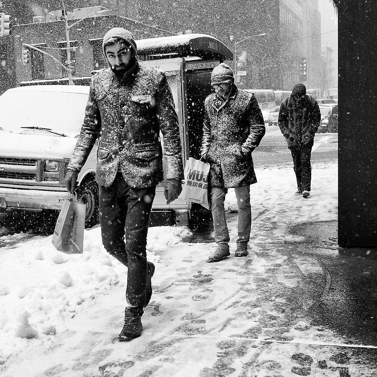 Winter in New York City, U.S.A., 2015