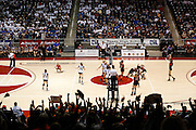 Friendswood battles Aledo at the UIL Class 4A semi-finals at the Curtis Culwell Center in Garland, Texas, on November 15, 2012.  (Stan Olszewski/The Dallas Morning News)