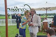 Lars von Bennigsen; MARISSA HERMER, Cartier Queen's Cup. Guards Polo Club, Windsor Great Park. 17 June 2012