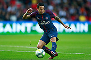 Paris Saint Germain's Argentinian midfielder Angel Di Maria controls the ball during the French Championship Ligue 1 football match between Paris Saint-Germain and Girondins de Bordeaux on September 30, 2017 at the Parc des Princes stadium in Paris, France - Photo Benjamin Cremel / ProSportsImages / DPPI
