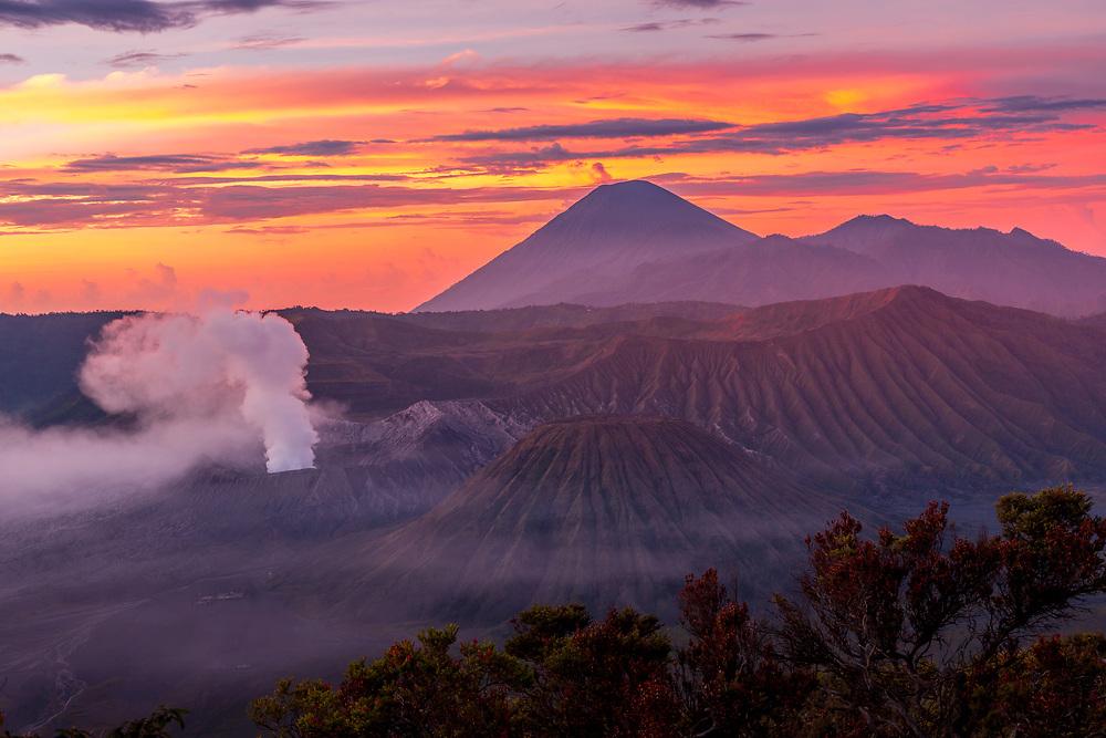 Sunrise at Bromo Tengger Semeru National Park, Indonesia