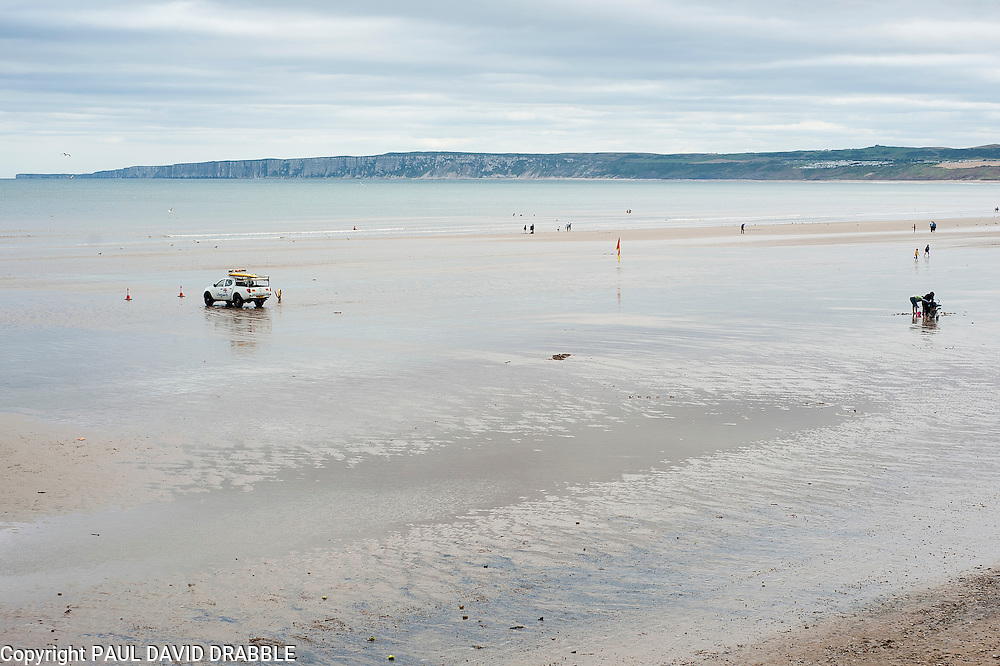 Beaches, cliffs and seafront Filey North Yorkshire