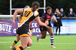 Row Marston of Bristol Bears Women - Mandatory by-line: Paul Knight/JMP - 12/10/2019 - RUGBY - Shaftesbury Park - Bristol, England - Bristol Bears Women v Wasps Ladies - Tyrrells Premier 15s