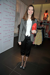 PLUM SYKES at a party to celebrate the launch of the Matthew Williamson collection at H&M held at the H&M store, Regent Street, London on 22nd April 2009.