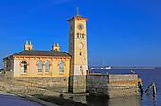 Waterside clocktower old town hall building, Cobh, County Cork, Ireland, Irish Republic
