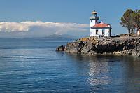 Lime Kiln Lighthouse, Lime Kiln Point State Park, San Juan Island, Washington