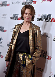 Sigourney Weaver attends the 30th Annual American Cinematheque Awards Gala at The Beverly Hilton Hotel on October 14, 2016 in Beverly Hills, California. Photo by Lionel Hahn/AbacaUsa.com