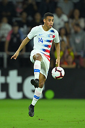 March 21, 2019 - Orlando, Florida, USA - US midfielder Tyler Adams (11) during an international friendly between the US and Ecuador at Orlando City Stadium on March 21, 2019 in Orlando, Florida. .The US won the game 1-0...©2019 Scott A. Miller. (Credit Image: © Scott A. Miller/ZUMA Wire)