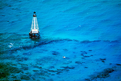 lighthouse at Alligator Reef, Florida Keys National Marine Sanctuary, Islamorada, Florida, USA, Atlantic Ocean