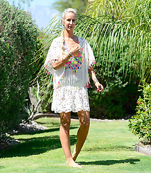 EXCLUSIVE: Lady Victoria Hervey enjoys herself at the 2018 Coachella Music Festival. 14 Apr 2018 Pictured: Lady Victoria Hervey. Photo credit: MEGA TheMegaAgency.com +1 888 505 6342
