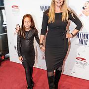 NLD/Utrecht/20180923 - Premiere Mamma Mia, Marlayne Sahupala - van den Broek met dochter Charlee