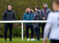 DERBY, ENGLAND - Friday, March 8, 2019: Liverpool's Harry Wilson watches his team-mates during the FA Premier League 2 Division 1 match between Derby County FC Under-23's and Liverpool FC Under-23's at the Derby County FC Training Centre. (Pic by David Rawcliffe/Propaganda)