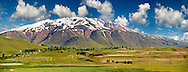 Mount Süphan  , the second highest Volcano in Turkey After Arat at 4058m. North Shore of Lake Van, Turkey 3 .<br /> <br /> If you prefer to buy from our ALAMY PHOTO LIBRARY  Collection visit : https://www.alamy.com/portfolio/paul-williams-funkystock/lakevanturkey.html<br /> <br /> Visit our TURKEY PHOTO COLLECTIONS for more photos to download or buy as wall art prints https://funkystock.photoshelter.com/gallery-collection/3f-Pictures-of-Turkey-Turkey-Photos-Images-Fotos/C0000U.hJWkZxAbg