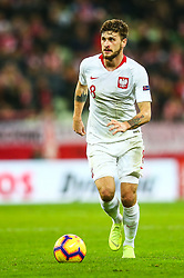 November 15, 2018 - Gdansk, Poland - Mateusz Klich of Poland during the international friendly soccer match between Poland and Czech Republic at Energa Stadium in Gdansk, Poland on 15 November 2018. (Credit Image: © Foto Olimpik/NurPhoto via ZUMA Press)