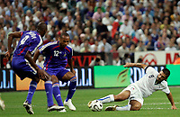 Paris/Parigi 6/9/2006 Stade de France Eliminatorie Euro 2008. France Italy 3-1 Francia Italia 3-1. Photo Andrea Staccioli INSIDE/Digitalsport<br /> Gennaro GATTUSO Italy, Thierry HENRY and Patrick VIEIRA France<br /> Norway only