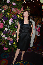 CAMILLA RUTHERFORD at a 1970's themed party as part of Annabel's 50th anniversary celebrations, held at Annabel's, Berkeley Square, London on 24th September 2013.