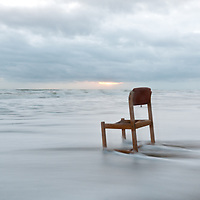 You never know what the tide might bring. Cape Canaveral National Seashore, Florida.