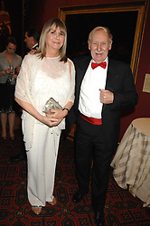 TREVOR BAYLIS and LYNN MILLER at the Morgan Stanley Great Britons Awards at The Guildhall, City of London on 31st January 2008.  Conservative party leader David Cameron presenter a lifetime achievement award to former Prime Minister Baroness Thatcher.<br /> <br /> NON EXCLUSIVE - WORLD RIGHTS (EMBARGOED FOR PUBLICATION IN UK MAGAZINES UNTIL 2 WEEKS AFTER CREATE DATE AND TIME) www.donfeatures.com  +44 (0) 7092 235465
