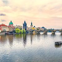 Prague, au Printemps