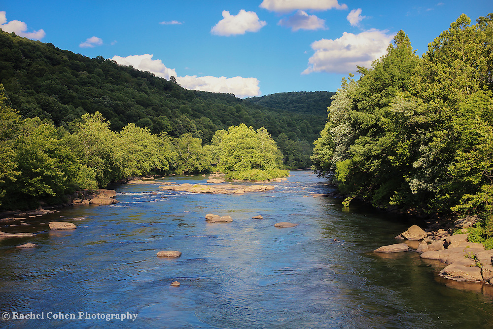 """""""Youghiogheny River 2""""<br /> <br /> Enjoy this lovely scenic view of the Youghiogheny River in Ohiopyle Pennsylvania during summertime!"""
