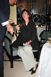 INDIA-JANE BIRLEY at a party to celebrate the publiction of 'No Invitation Required' by Annabel Goldsmith, held at Claridge's, Brook Street, London on 11th November 2009.