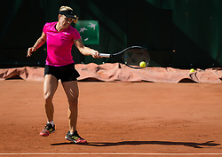 May 23, 2019 - Paris, FRANCE - Angelique Kerber of Germany during practice at the 2019 Roland Garros Grand Slam tennis tournament (Credit Image: © AFP7 via ZUMA Wire)