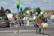 Shopping at Asda, SOVEREIGN HARBOUR, EASTBOURNE, 2 May 2020