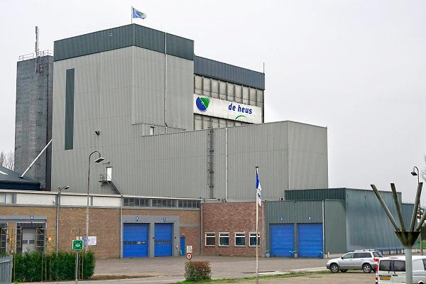 Nederland, Ravenstein, 13-4-2018Een vestiging, productielocatie van de Heus diervoeders . De Heus produceert mengvoeders voor de veeteelt. FOTO: FLIP FRANSSEN