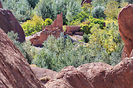 Kasbah ruins in the Dades Valley, Morocco.