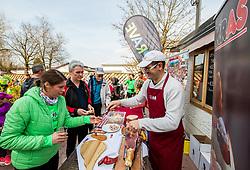 Kraski prsut, Priprave za Ljubljanski maraton 2019 v sodelovanju s sezanskim Malim kraskim maratonom, on March 9, 2019, in Mostec, Ljubljana, Slovenia. Photo by Vid Ponikvar / Sportida