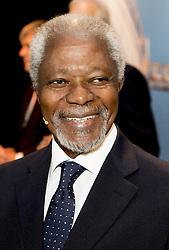 Kofi Annan beim Global Minds Symposium in Rotterdam / 051016<br /> ***Global Minds symposium in Rotterdam, The Netherlands, Oct. 5th, 2016.***