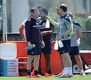 England Training 060614