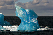 Blue Iceberg, Southern Ocean, Antarctica, 13th February 2007