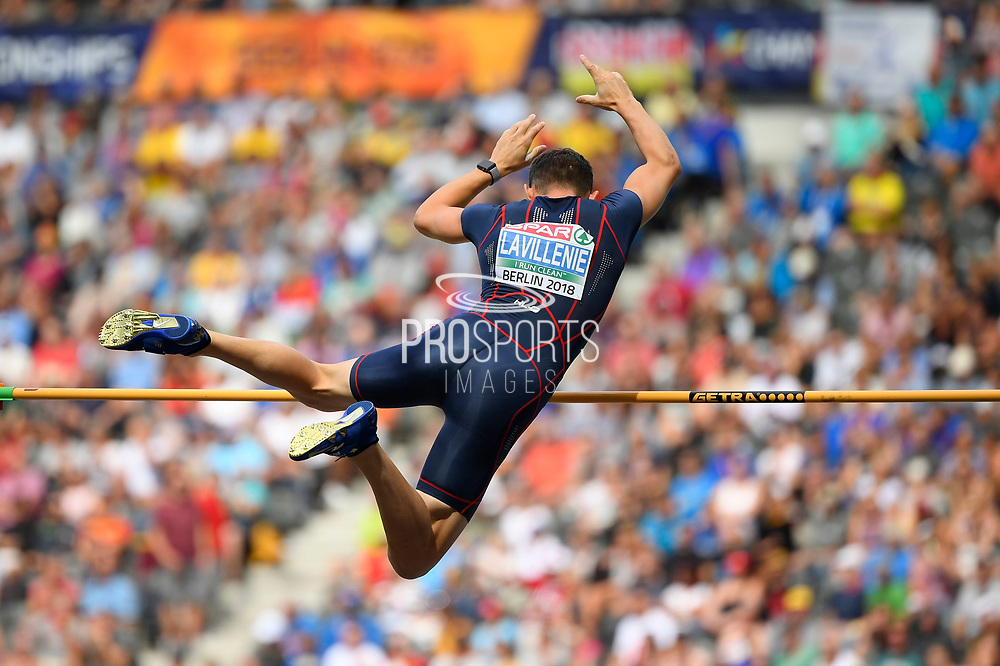 Renaud Lavillenie (FRA) competes in Pole Vault Men during the European Championships 2018, at Olympic Stadium in Berlin, Germany, Day 4, on August 10, 2018 - Photo Photo Julien Crosnier / KMSP / ProSportsImages / DPPI
