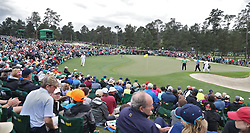 April 7, 2018 - Augusta, GA, USA - Patrick Reed and Mark Leishman approach the 2nd green during the third round of the Masters Tournament on Saturday, April 7, 2018, at Augusta National Golf Club in Augusta, Ga. (Credit Image: © Jason Getz/TNS via ZUMA Wire)