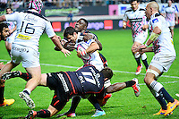 Morne STEYN / Yannick NYANGA / Schalk FERREIRA - 24.04.2015 - Stade Francais / Stade Toulousain - 23eme journee de Top 14<br />