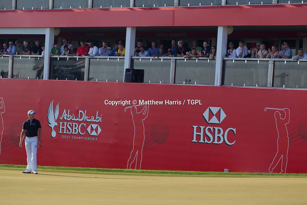 Jamie DONALDSON (WAL) during fourth round,Abu Dhabi HSBC Championship 2013,Abu Dhabi Golf Club,Abu Dhabi,20th January 2013.